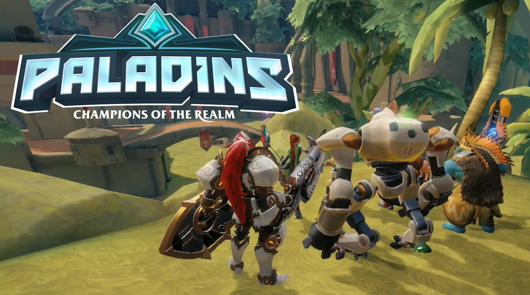 What It's Like Playing Paladins. The Overwatch Clone