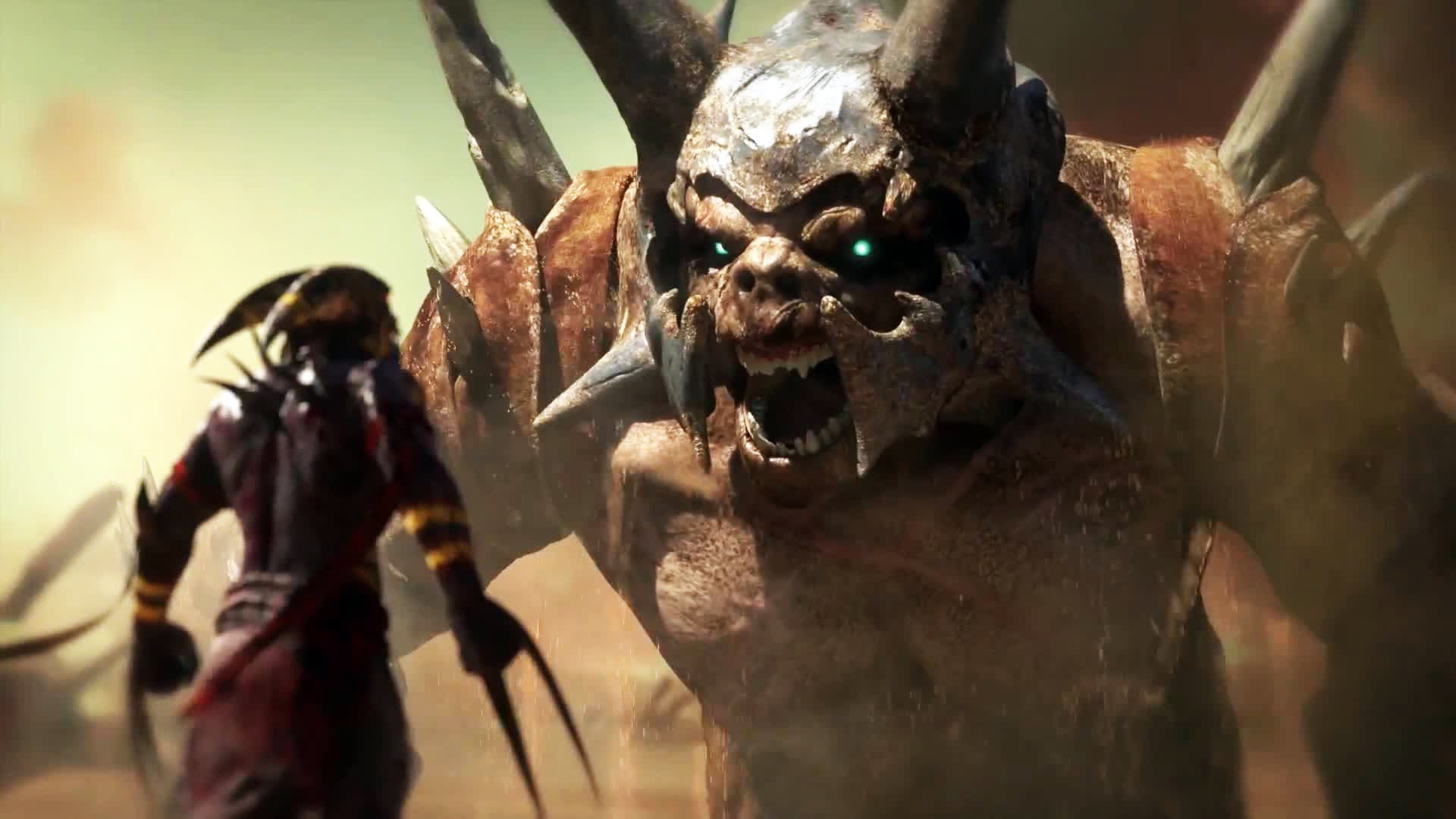 Shadow Of The Beast: Gameplay Trailer