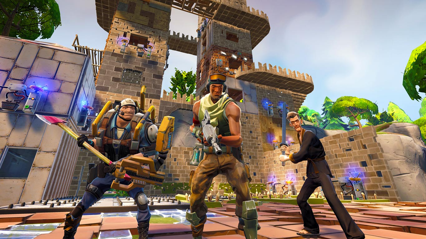 Fortnite Is A Potentially Great Survival Game That Enjoys Smacking You Into Payment Walls