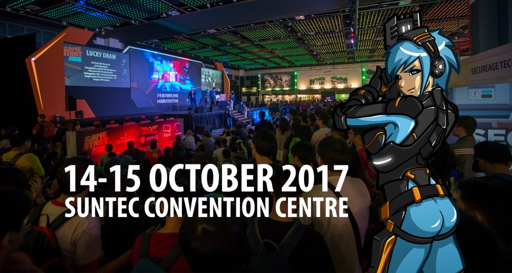 GameStart 2017, Elphant Pte Ltd, Singapore, Game Conference, Convention, Gaming, Gamers