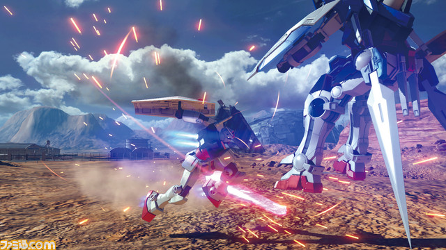 Gundam Versus Bandai Namco Free Beta Test June 2017 Japan