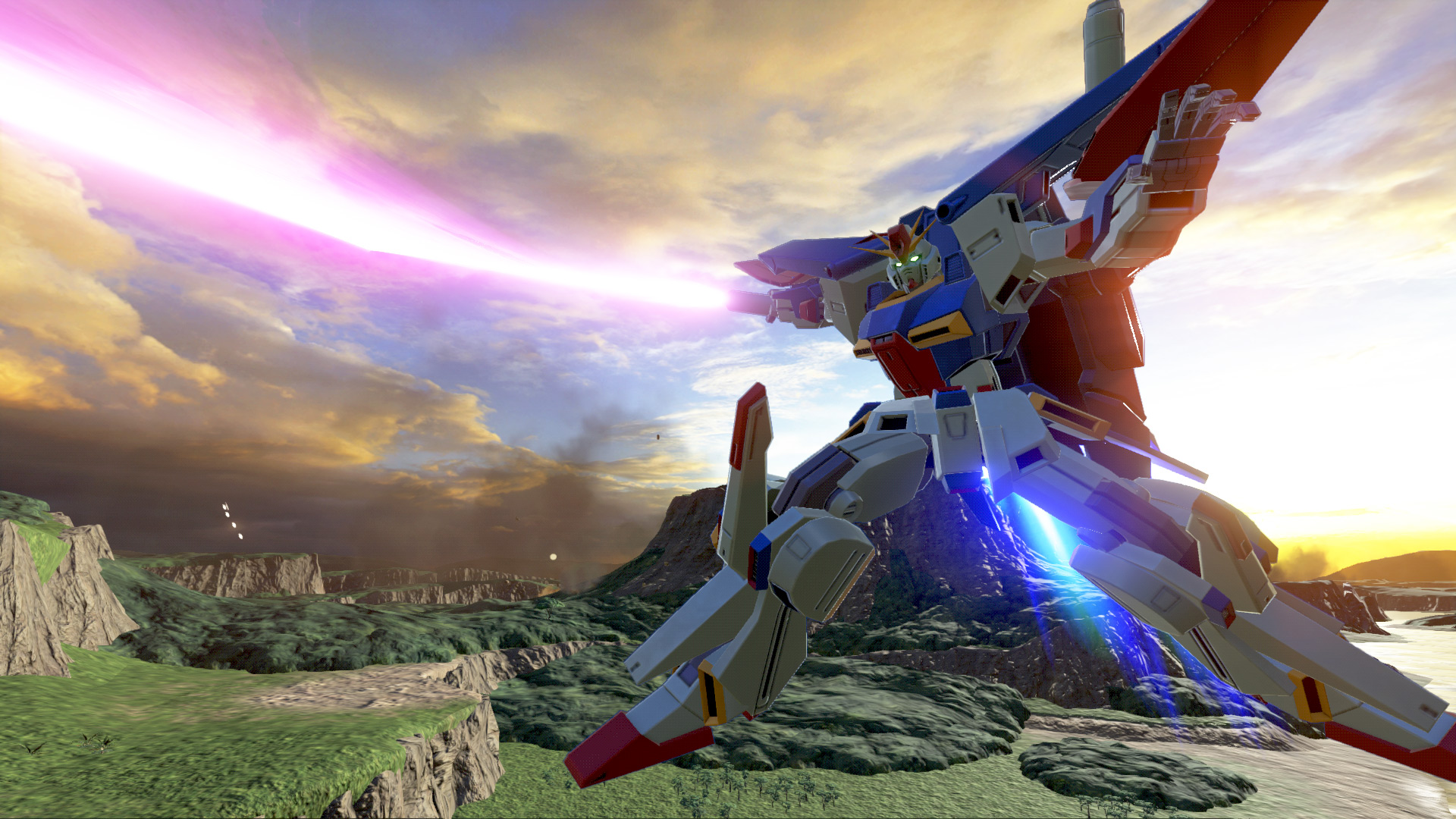 'Gundam Versus' Is Getting A Month Long Online Beta Test In Japan This June