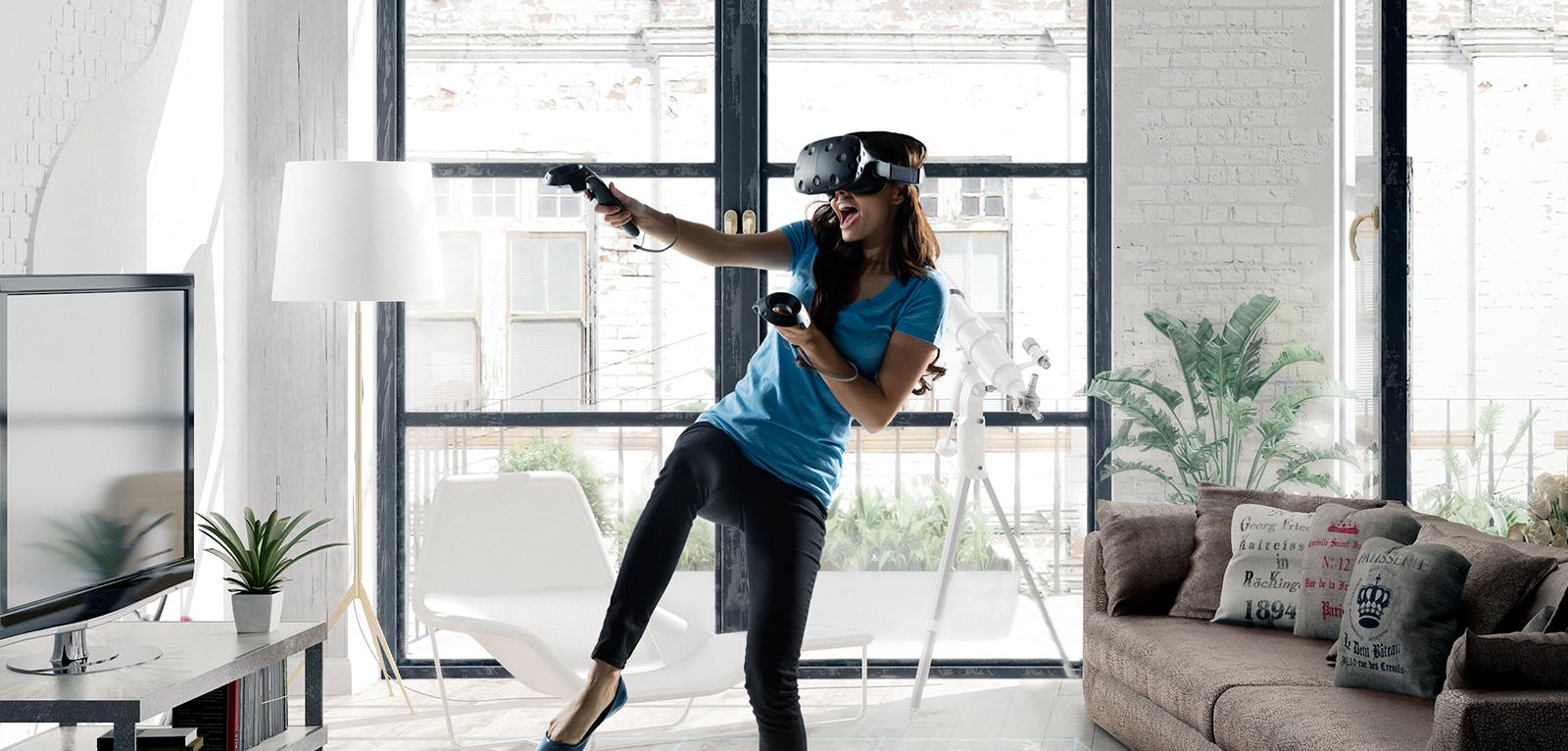 HTC Vive Announces New VR Equipment At CES