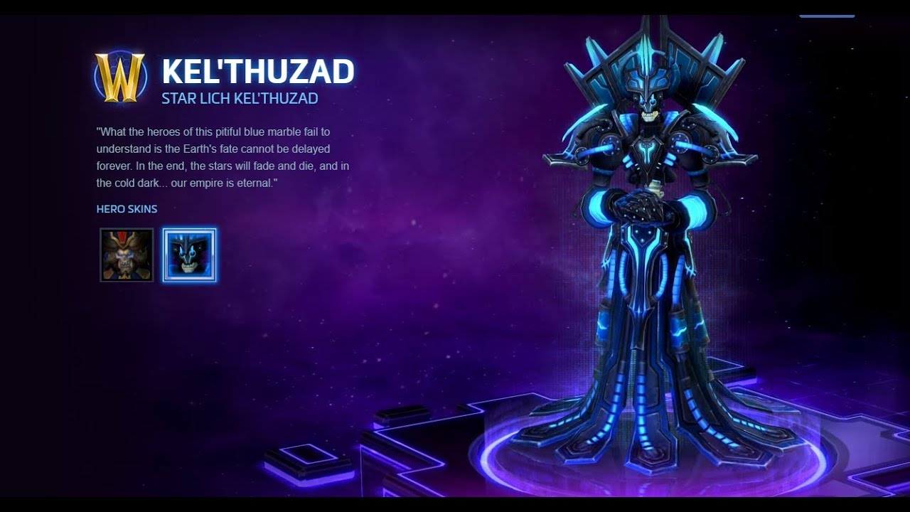 The Time Has Come For Kel'thuzad To Join His Master In Heroes of the Storm