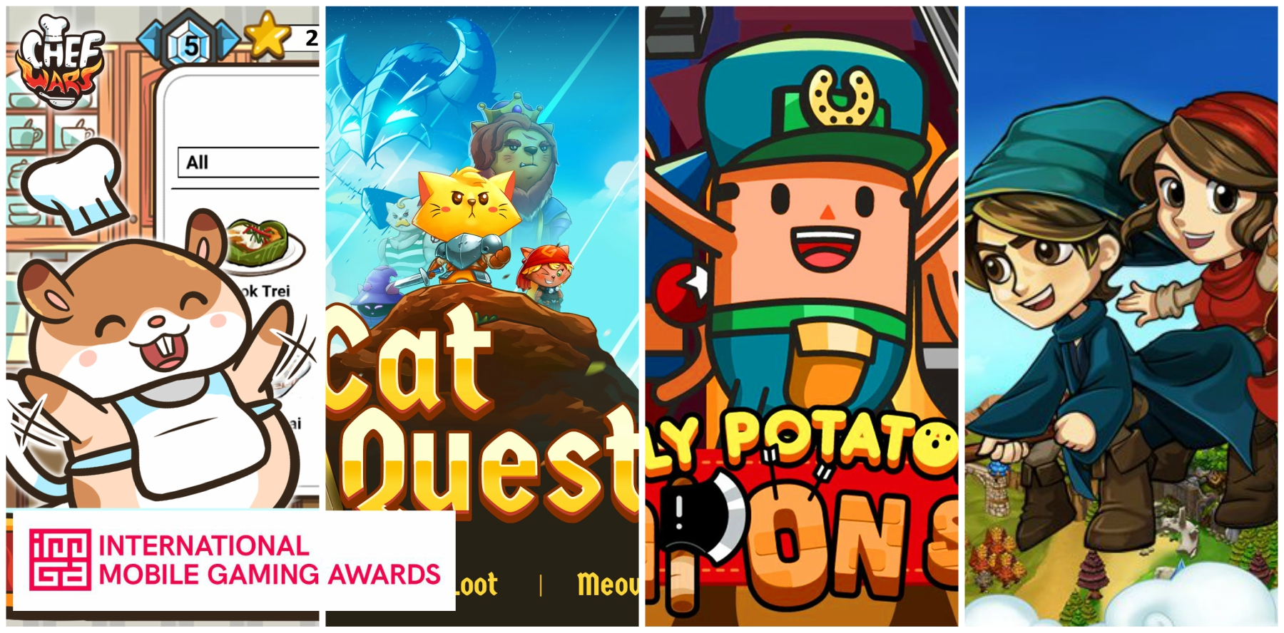 IMGA SEA 2017 Nominees, Singapore, Indie Mobile Game Awards