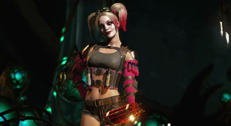 Injustice 2 NetherRealm Studios DC Comics PS4 Xbox One Harley Quinn