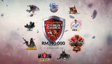 Malaysia Cyber Games 2018, eSports, e-sports, 30,000, Dota, F1, PWTC