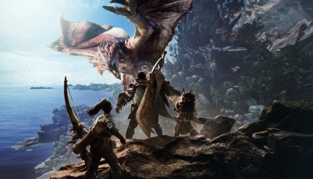 Monster Hunter World, Capcom, PS4, Xbox One, PC, Multiplayer Online
