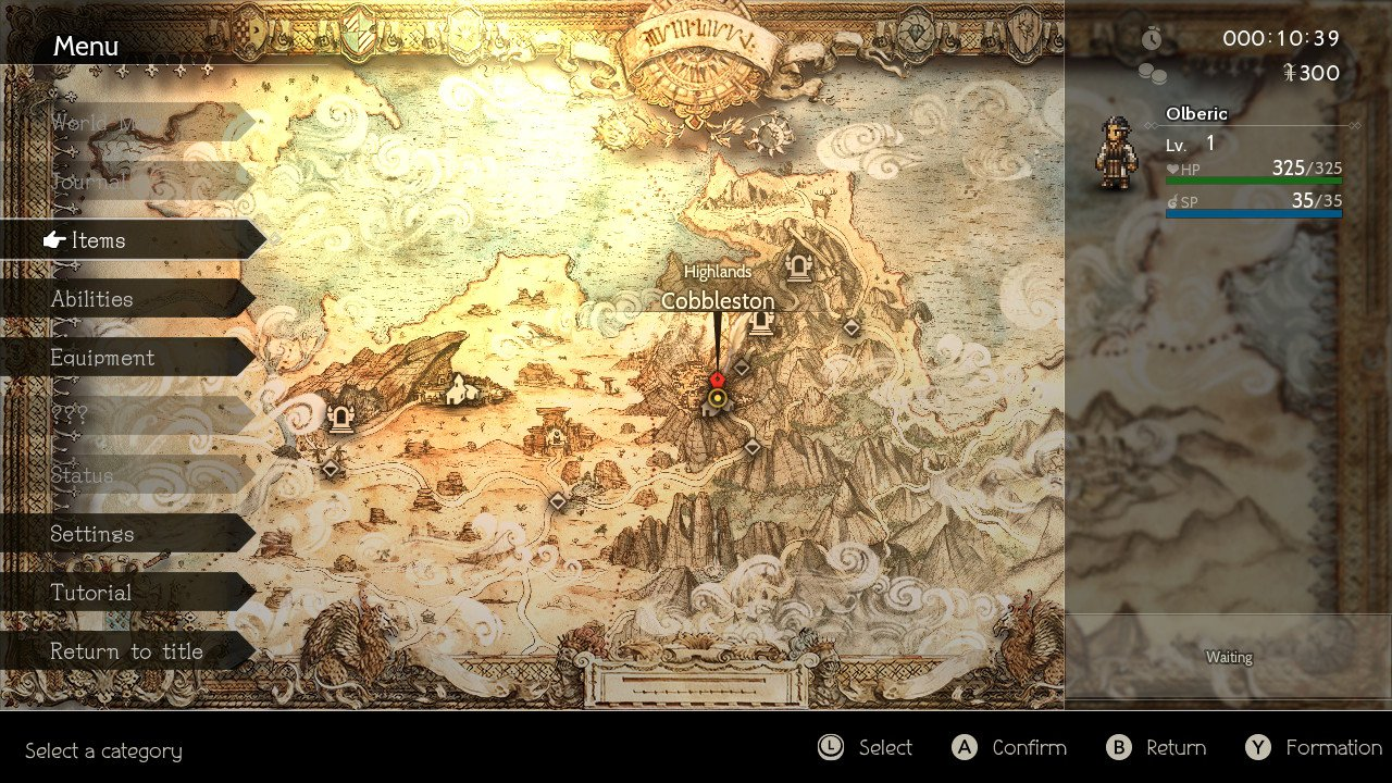 Octopath Traveler Nintendo Switch Square Enix Jrpg Olberic