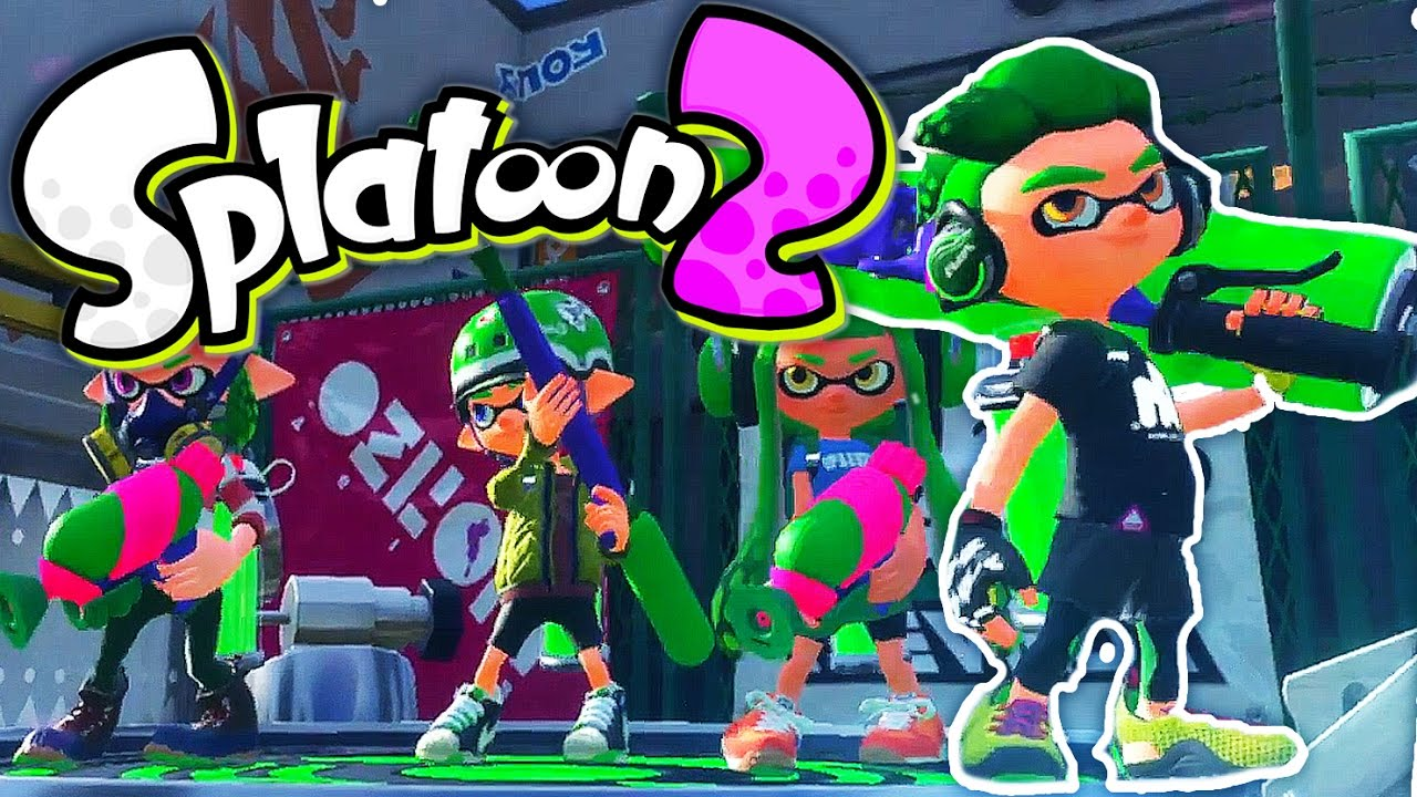 Splatoon 2 Is Coming To The Nintendo Switch Unpause Asia