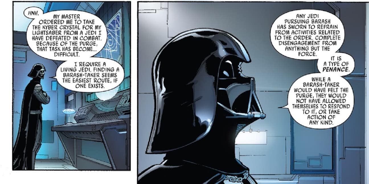 Star Wars The Last Jedi, Easter Egg, The Barash Vow, Luke Skywalker, Darth Vader, The Force