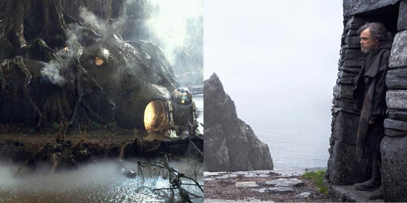 Star Wars The Last Jedi, Easter Eggs, Yoda, Luke Skywalker