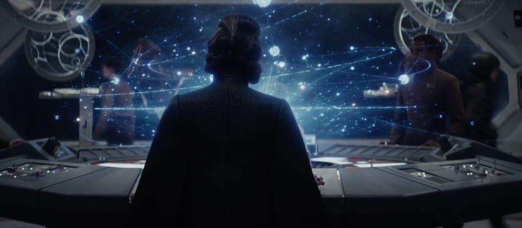 Star Wars The Last Jedi Teaser Trailer Leia The Resistance Carrie Fischer D'Qar