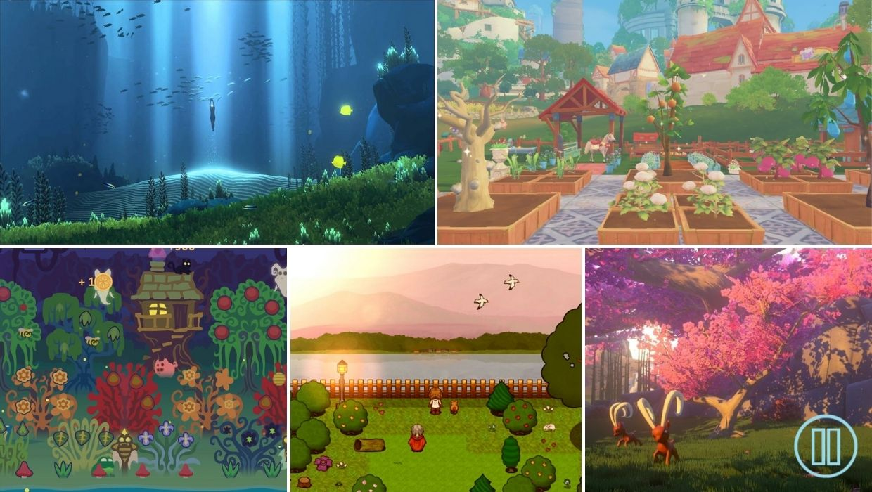 10 Relaxing Games To Leave Your Worries Behind, Nintendo Switch, PC, Indie Game