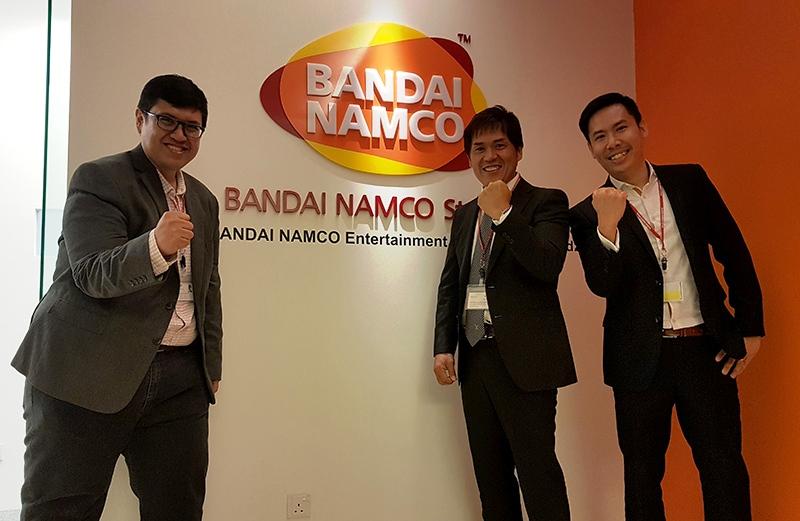 Banadi Namco Opens In Malaysia Official Hasnul Hadi Samsudin MDEC
