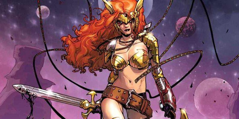 Aldrif Odinsdottir, Angela, Asgard, Asgardian, Thor, Marvel