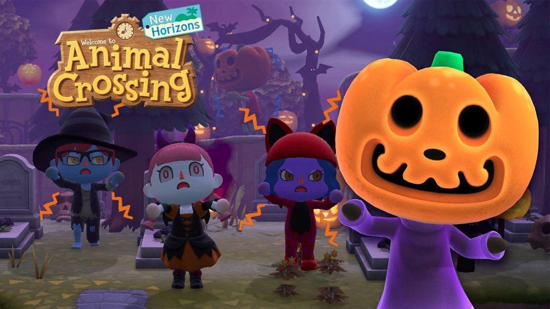 Animal Crossing New Horizons, Nintendo Switch, Fall Update, Halloween, Farming, Jack