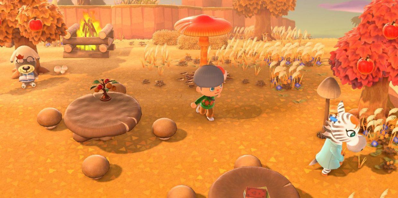 Animal-Crossing-New-Horizons-Nintendo-Switch-Fall-Update-Mushrooms-Mush-Furniture