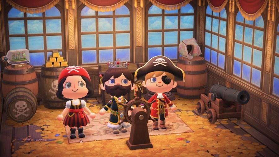 Animal Crossing New Horizons, Nintendo Switch, Gulliver, Pirate, Captain Gullivarrr, Pirate Gullivarrr, Time Travel, Summer