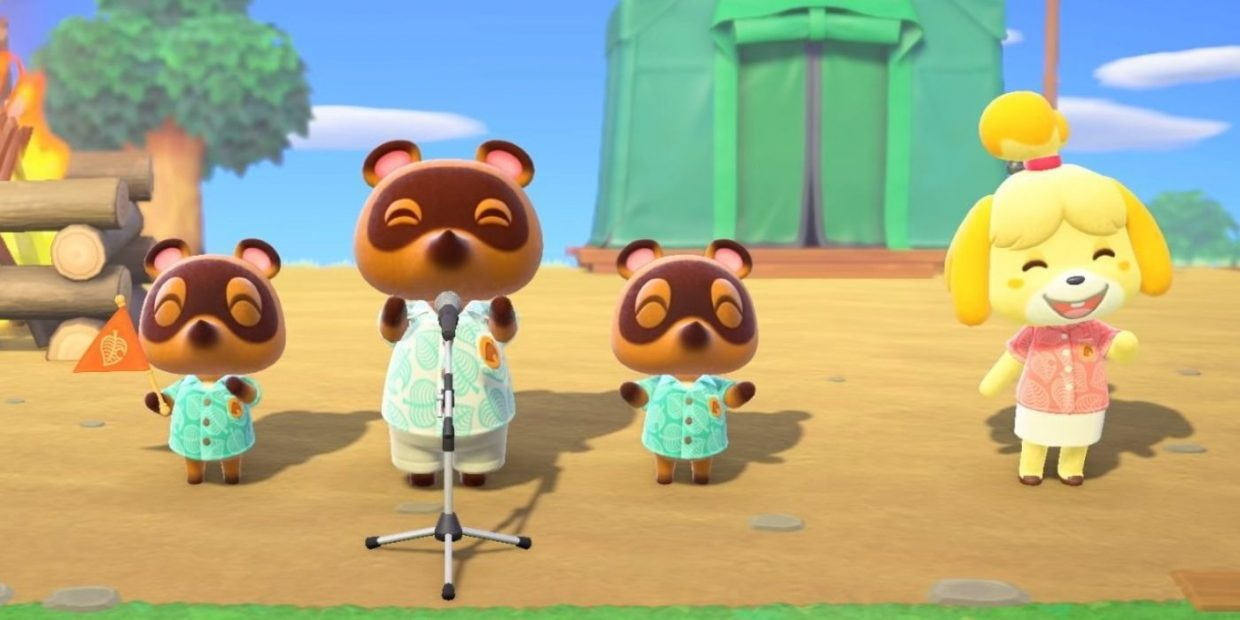 Animal Crossing New Horizons, Nintendo Switch, Isabelle, Tom Nook, Timmy Nook, Tommy Nook, Bells