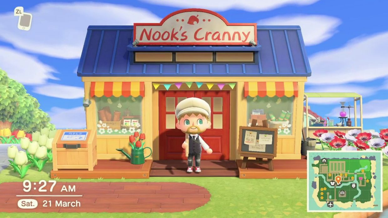 Animal Crossing New Horizons, Nintendo Switch, Nintendo, Upcomong Features, Nook's Cranny, Expansion