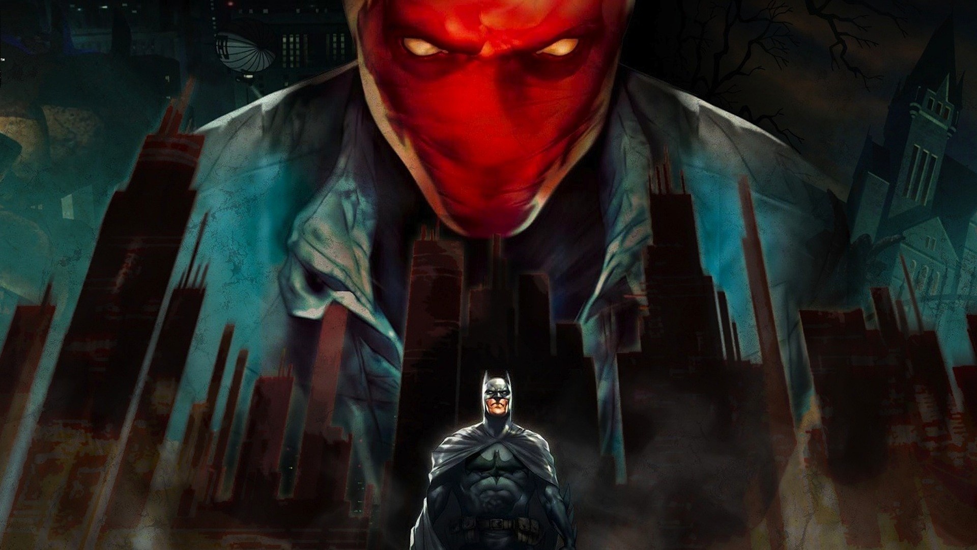 Batman Under the Red Hood, Animated Movie, DC Movie, Robin, Red Hood