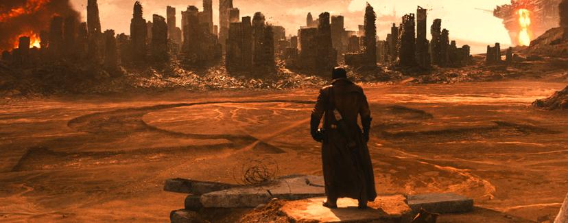 Batman v Superman, Darkseid Easter Egg, Omega Symbol