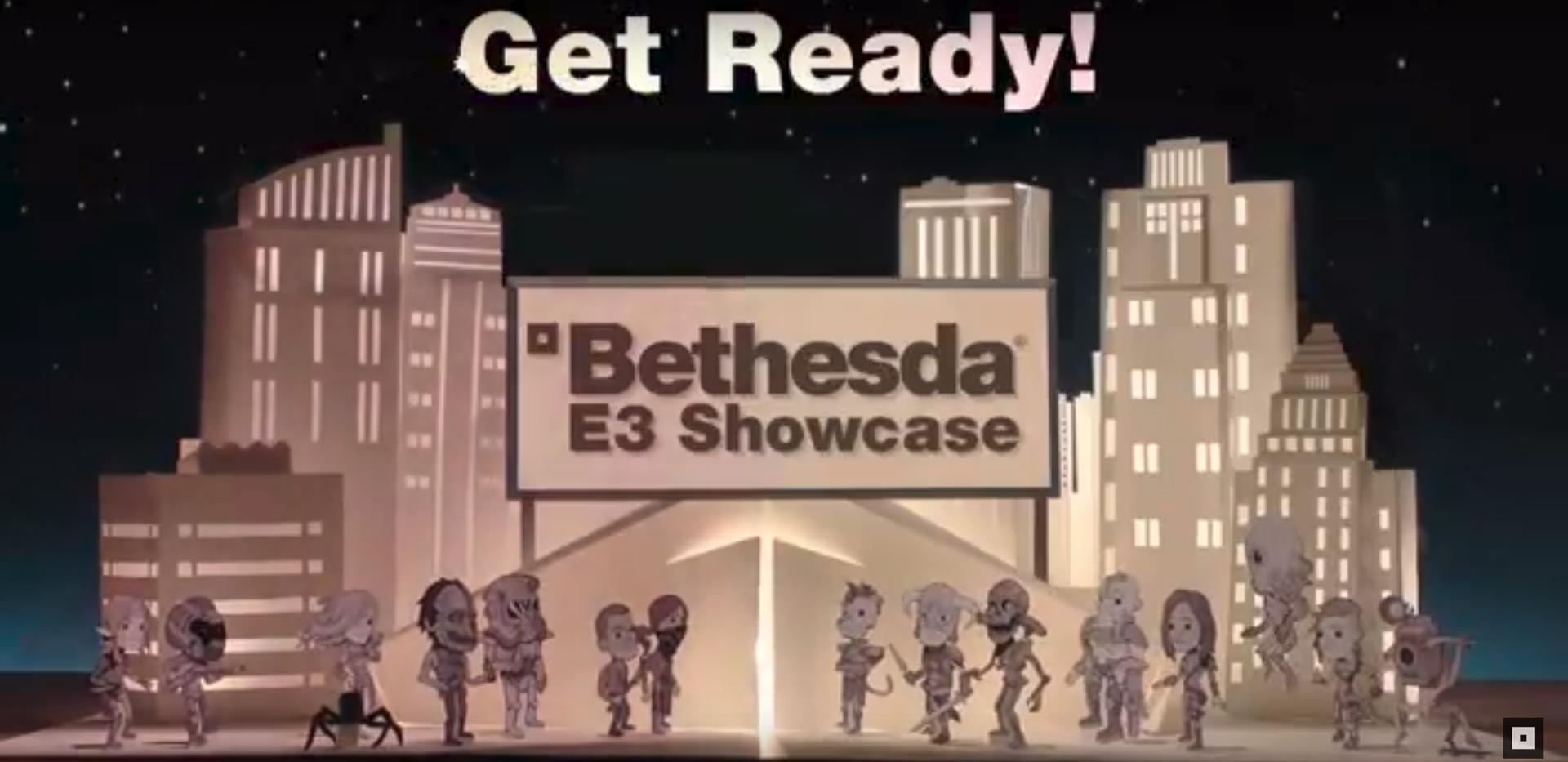 Bethesda Softworks Game Studio, E3 2018 Showcase, Press Conference