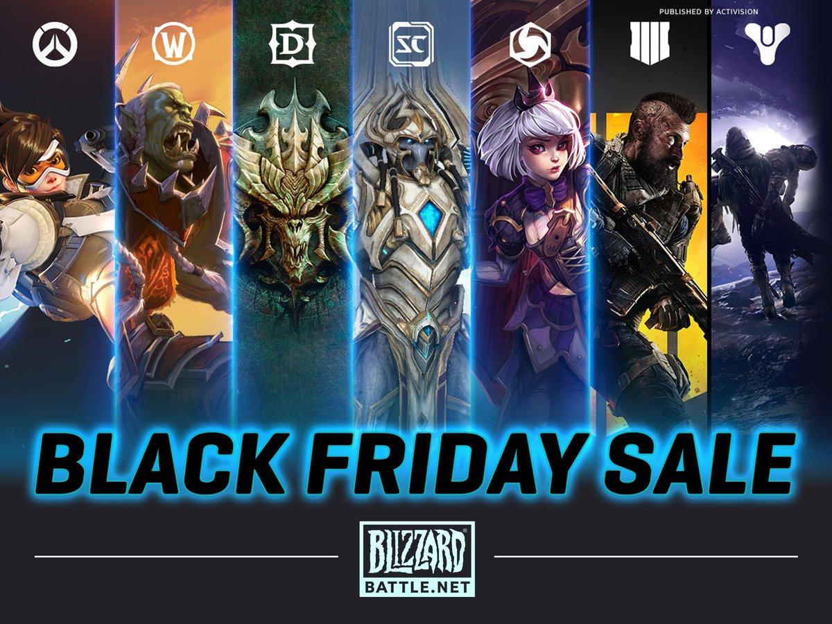 Blizzard, Blizzard Entertainment, Black Friday, Battle.net, Discounts