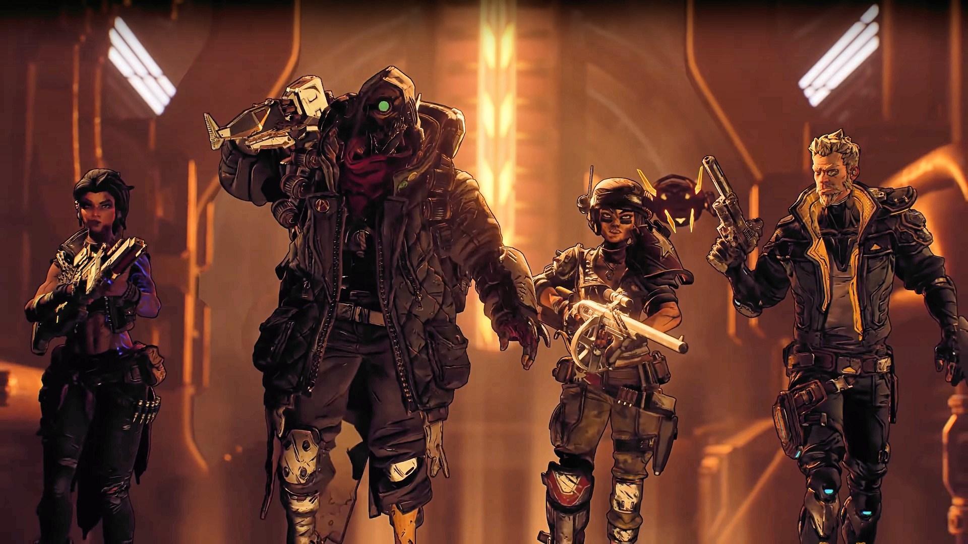 Borderlands 3, Vault Hunter, Gearbox Software, Epic Games, Zane, Amara, FL4K, Moze