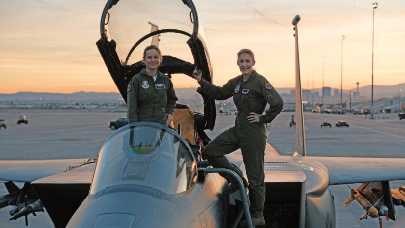 Captain Marvel, Brie Larson, Binary, Marvel Cinematic Universe, Avengers, Comic Book, Air Force Pilot