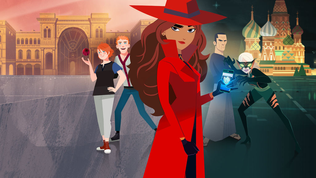 Carmen Sandiego, Netflix, TV Series, 90s game, nostalgia