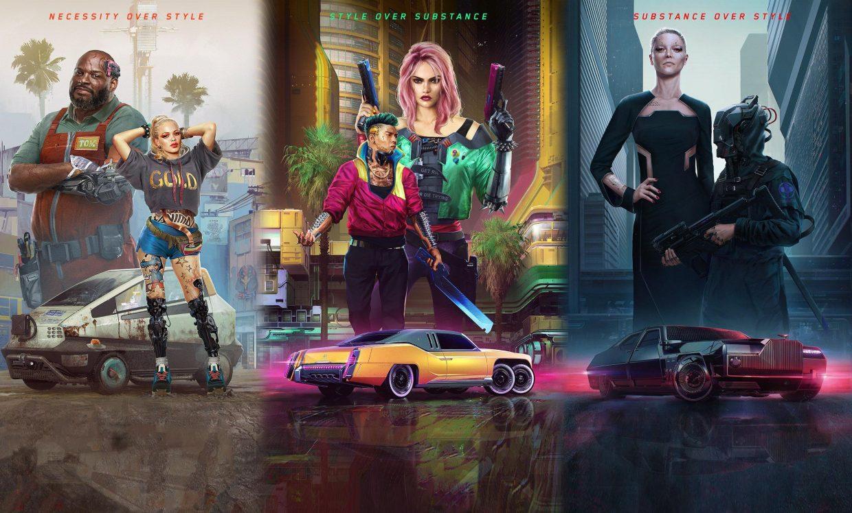 Cyberpunk 2077, CD Project Red, Sci Fi RPG, Lifepaths, V, Corpo, Nomad, Street Kid