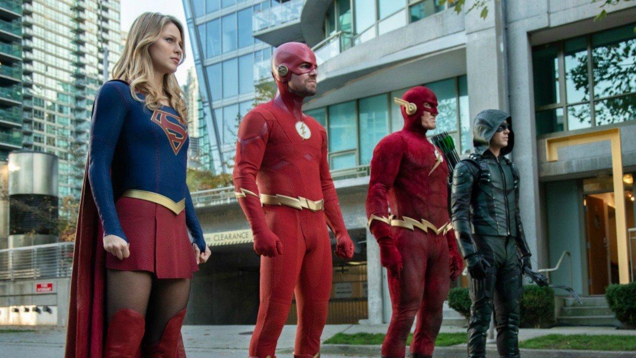 DC Comics, TV Show, TV series, Arrow, Green Arrow, The Flash, Supergirl, Superman, Batwoman, Gotham, Batman, Legends of Tomorrow