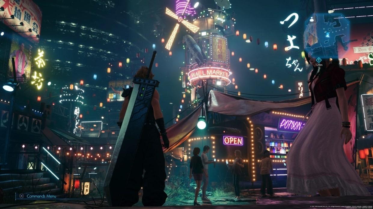 Final Fantasy 7 Remake, Square Enix, FF7, PS4, Cloud, Open World Exploration