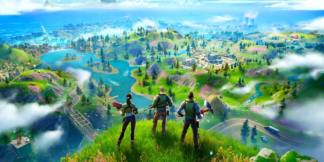Fortnite, Chapter 2, Battle Royale, Epic Games, Landing Spots, Gamer Guide, Gaming