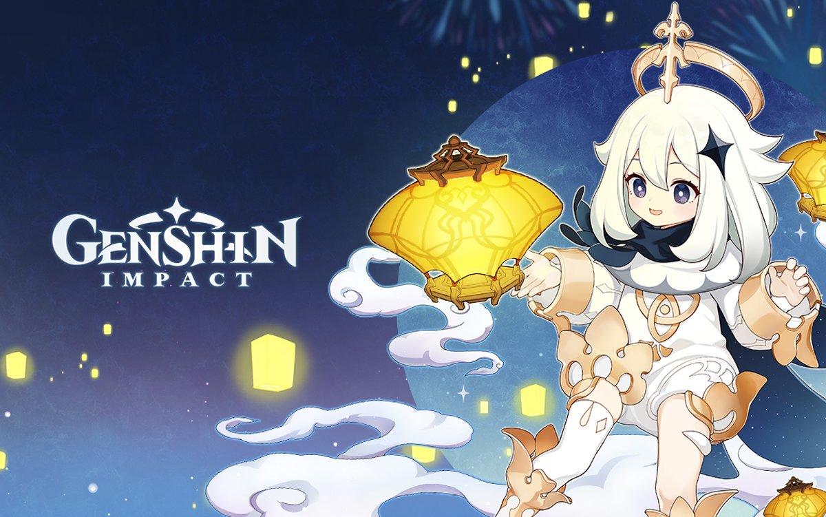 Genshin Impact. miHoyo. version 1.3, lantern rite, event, v1.3, RPG, ps4, pc, ios, android, gacha, paimon