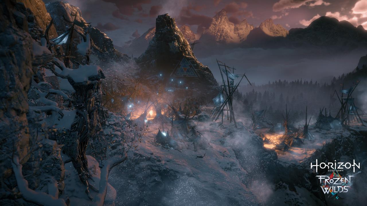 Horizon Zero Dawn, The Frozen Wilds, DLC, Banuk, Ban-Ur, Yellowstone, Sony, Guerrilla Games Playstation 4 Exclusive PS4
