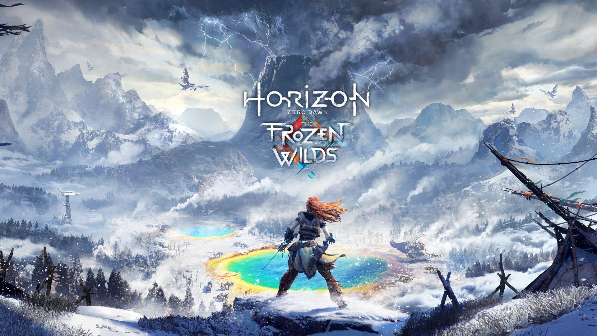 Horizon Zero Dawn, The Frozen Wilds, DLC, Sony, Guerrilla Games Playstation 4 Exclusive PS4