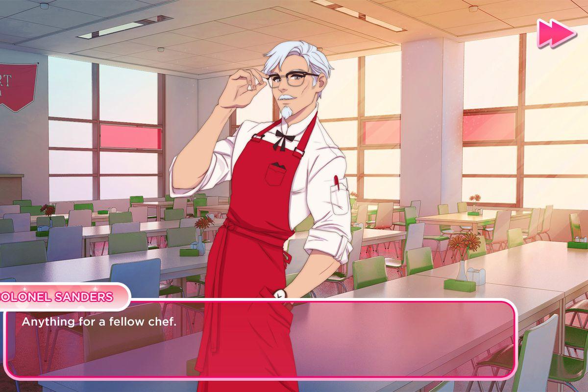 I love you colonel sanders, KFC, marketing, kentucky fried chicken, pc game, lulz