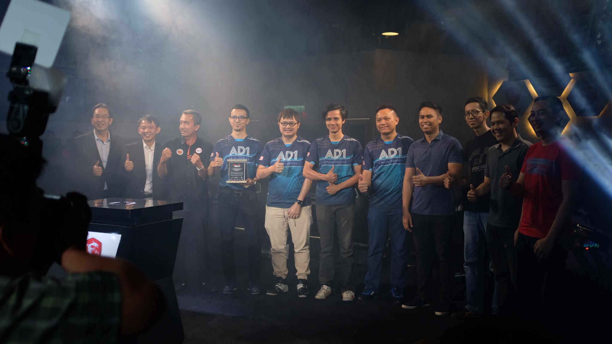 Pro Circuit, Malaysia, eMotorsports, eSports, AD1