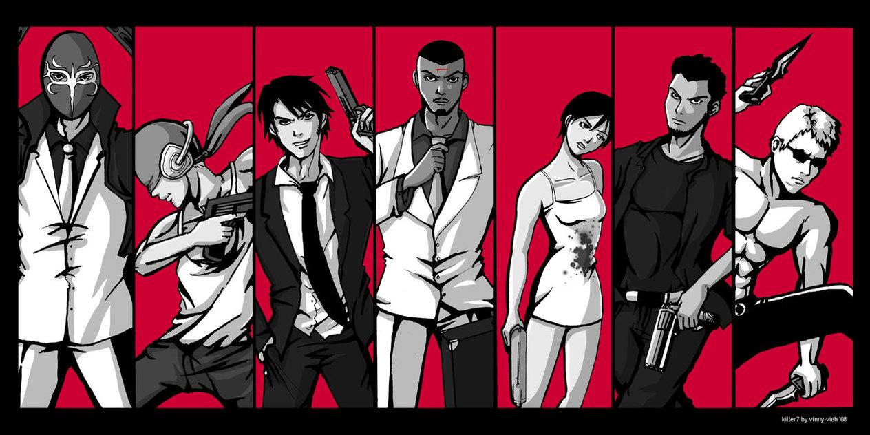 Killer7, Goichi Suda, Suda51, Shinji Mikami, Grasshopper Manufacture