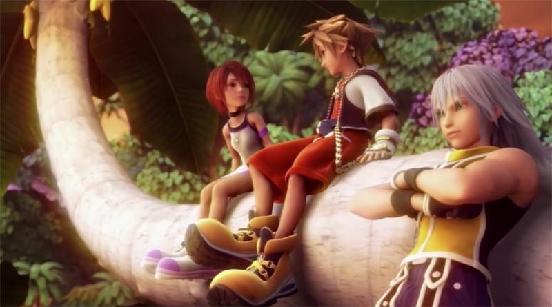Kingdom Hearts 1 Riku Sora Kairi Square Enix