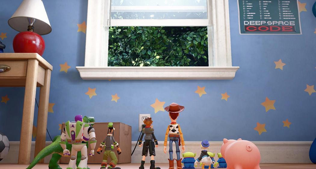 Kingdom Hearts 3 Pixar Toy Story 2018, Woody, Buzz Lightyear, Disney, Square Enix