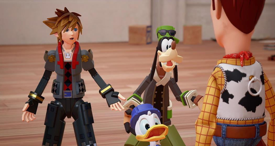 Kingdom Hearts 3 Pixar, Toy Story, Woody, Buzz Lightyear, Disney, Square Enix