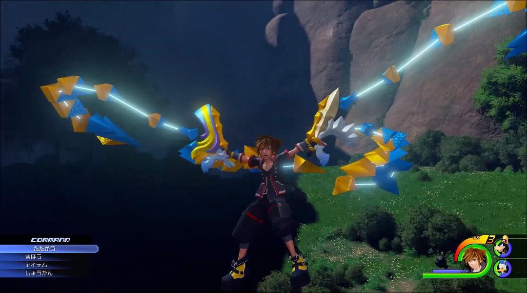 Kingdom Hearts 3, Square Enix, Nomura, Keyblade, Transformations