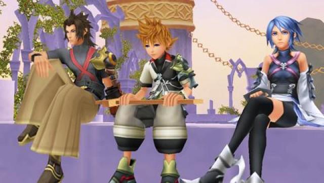 Kingdom Hearts Birth By Sleep Keyblade Masters Aqua Ventus Terra