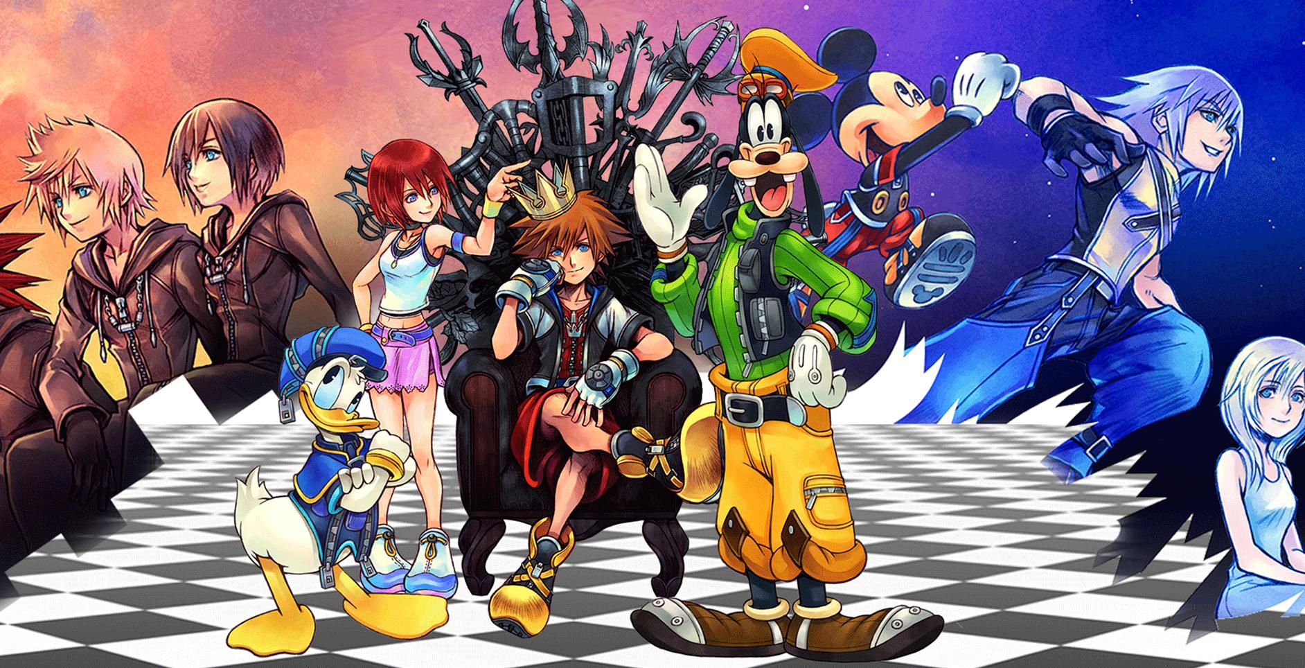 Kingdom Hearts HD 1.5 2.5 Remix Playstation Square Enix