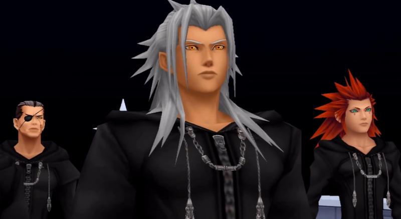 Kingdom Hearts Organization XIII Xemnas Xehonart Square Enix