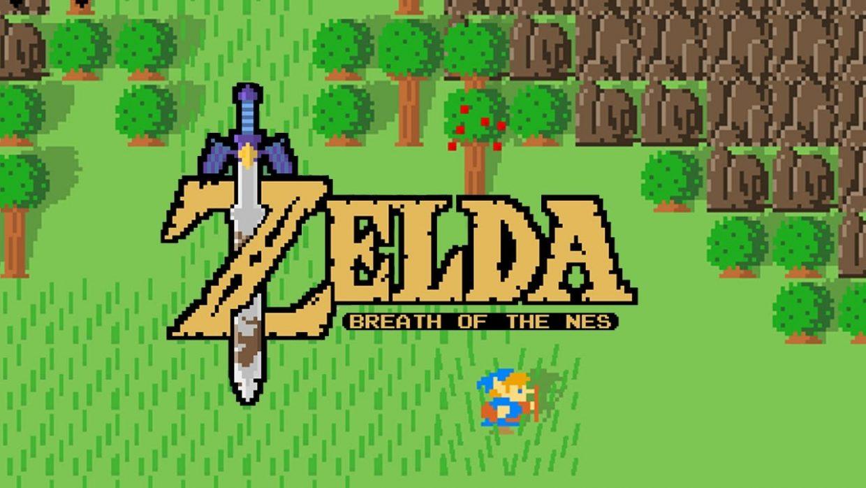 Legend of Zelda Breath of the Wild, 2D, SNES